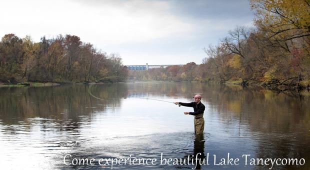 Lake taneycomo flys and guides for Lake taneycomo trout fishing